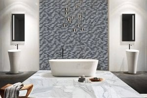 Calacatta, Stoneline Group's marble collection in tile collection.