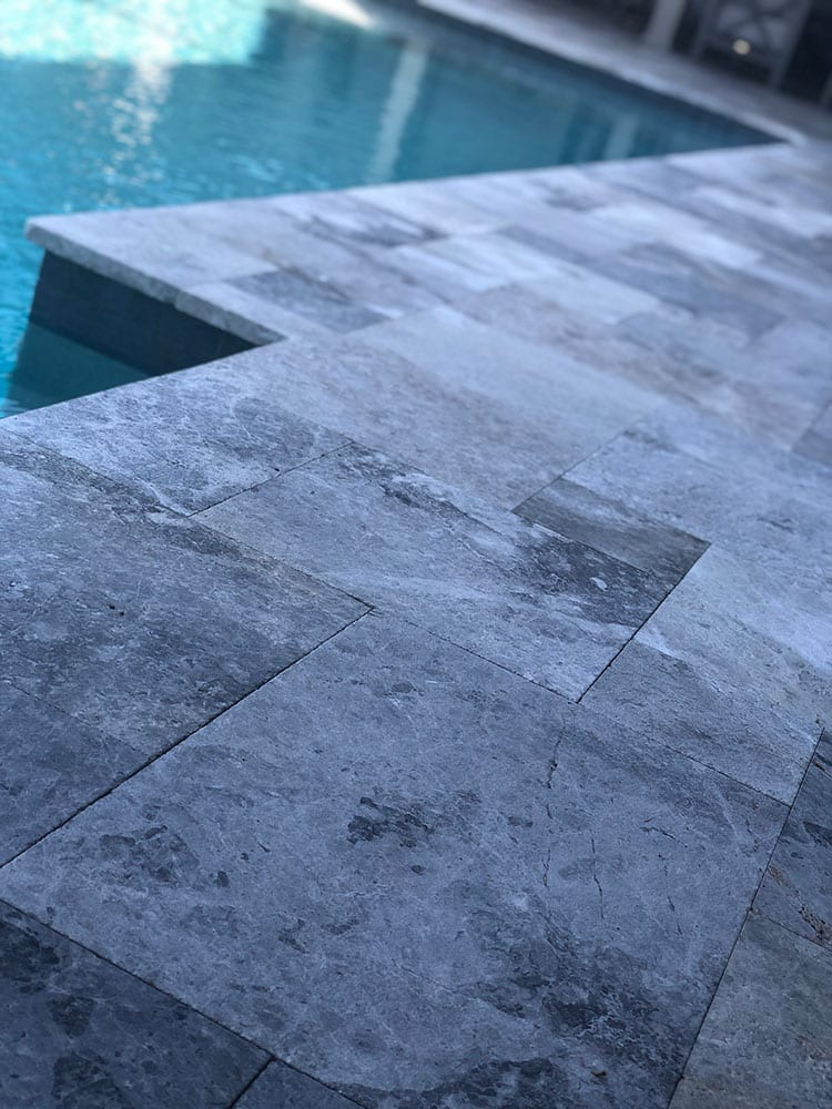 Stoneline-Group-Tundra-Grey-Marble-Marble-Collection-Marble-Coping-Bullnose-Remodel-Eased-Edge-Pool-deck-marble-design-Pictures