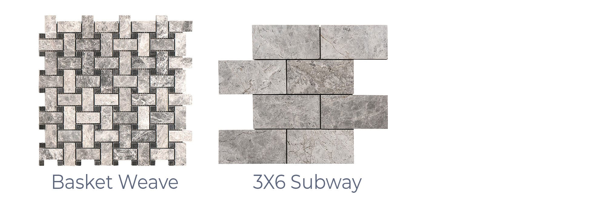 Stoneline-Group-Tundra-Grey-Travertine-Marble-Collection-Marble-Mosaic-Basket-Weave-3X6-Subway-Pictures