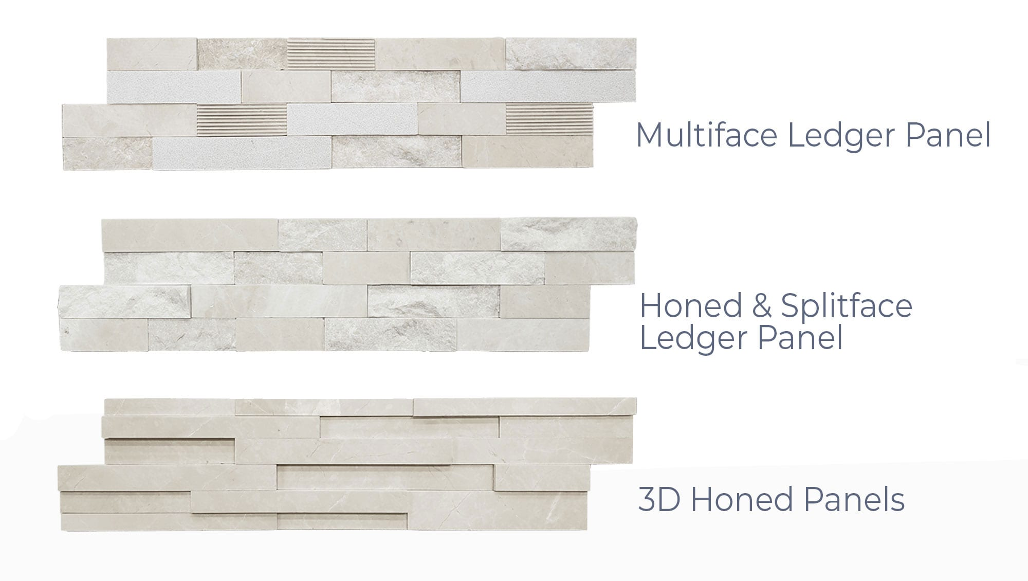 Stoneline-Group-Bottichino-Marble-Collection-Marble-Veneer-Multi-face-honed-split-face-3d-honed-ledger-panels-Pictures-variation
