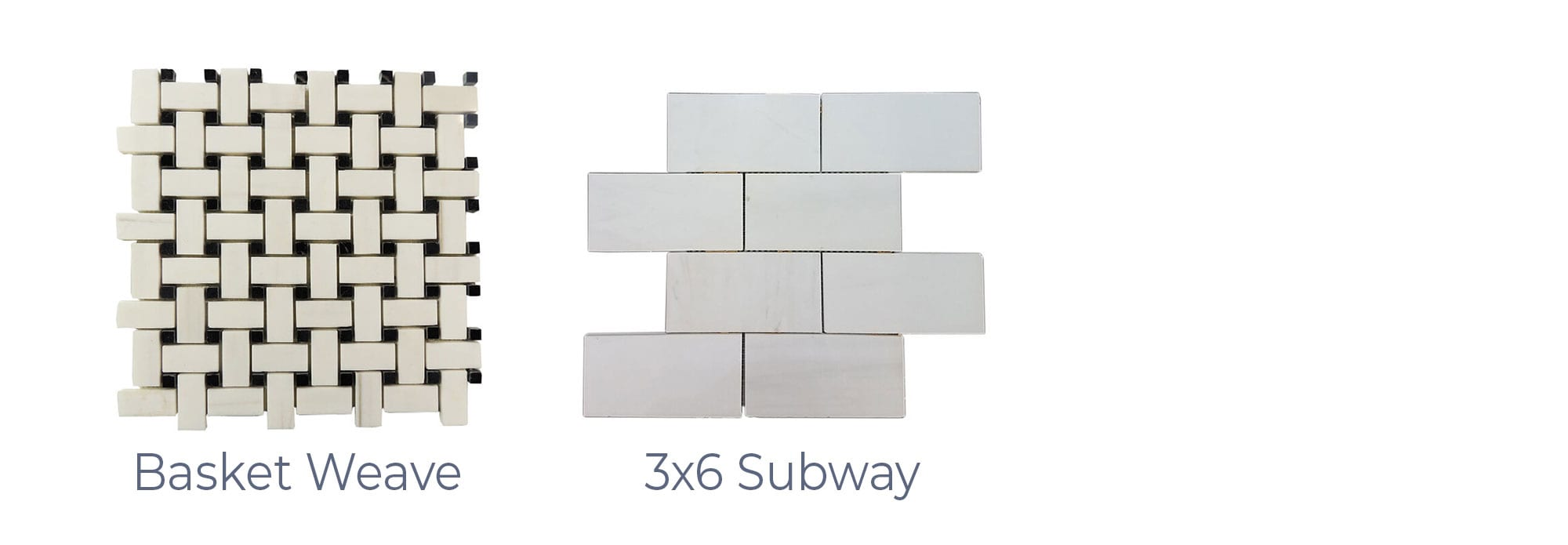 Stoneline-Group-Dolomite-Marble-Collection-Marble-Mosaic-varieties-Basket-Weave-3×6-Subway-Pictures