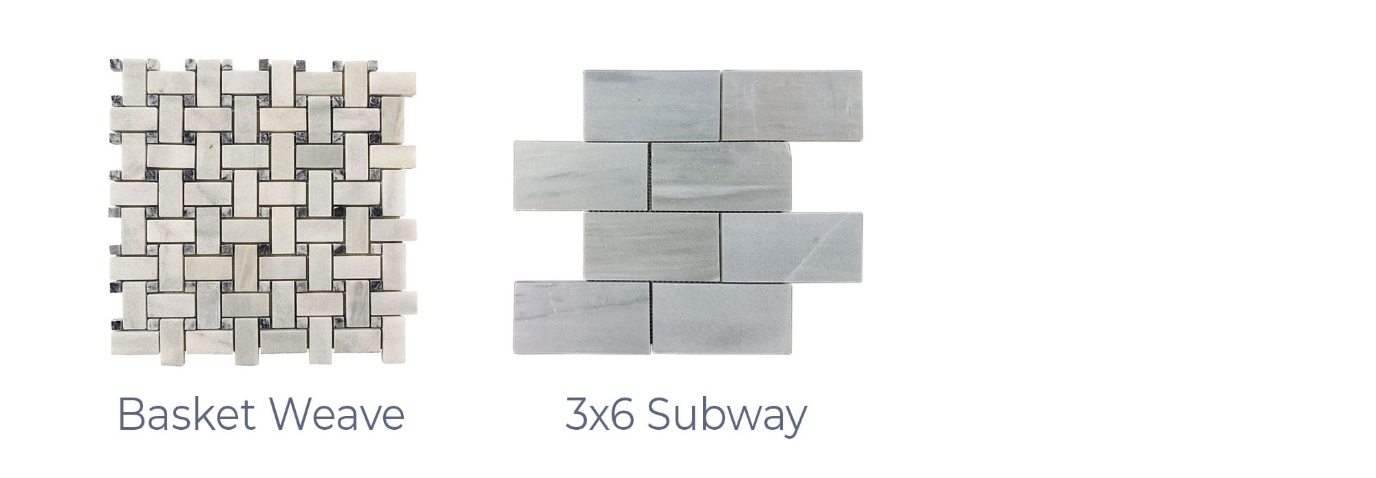 Stoneline-Group-Ice-White-Marble-Collection-Marble-Mosaics-Basket-Weave-3×6-Subway-Pictures-d