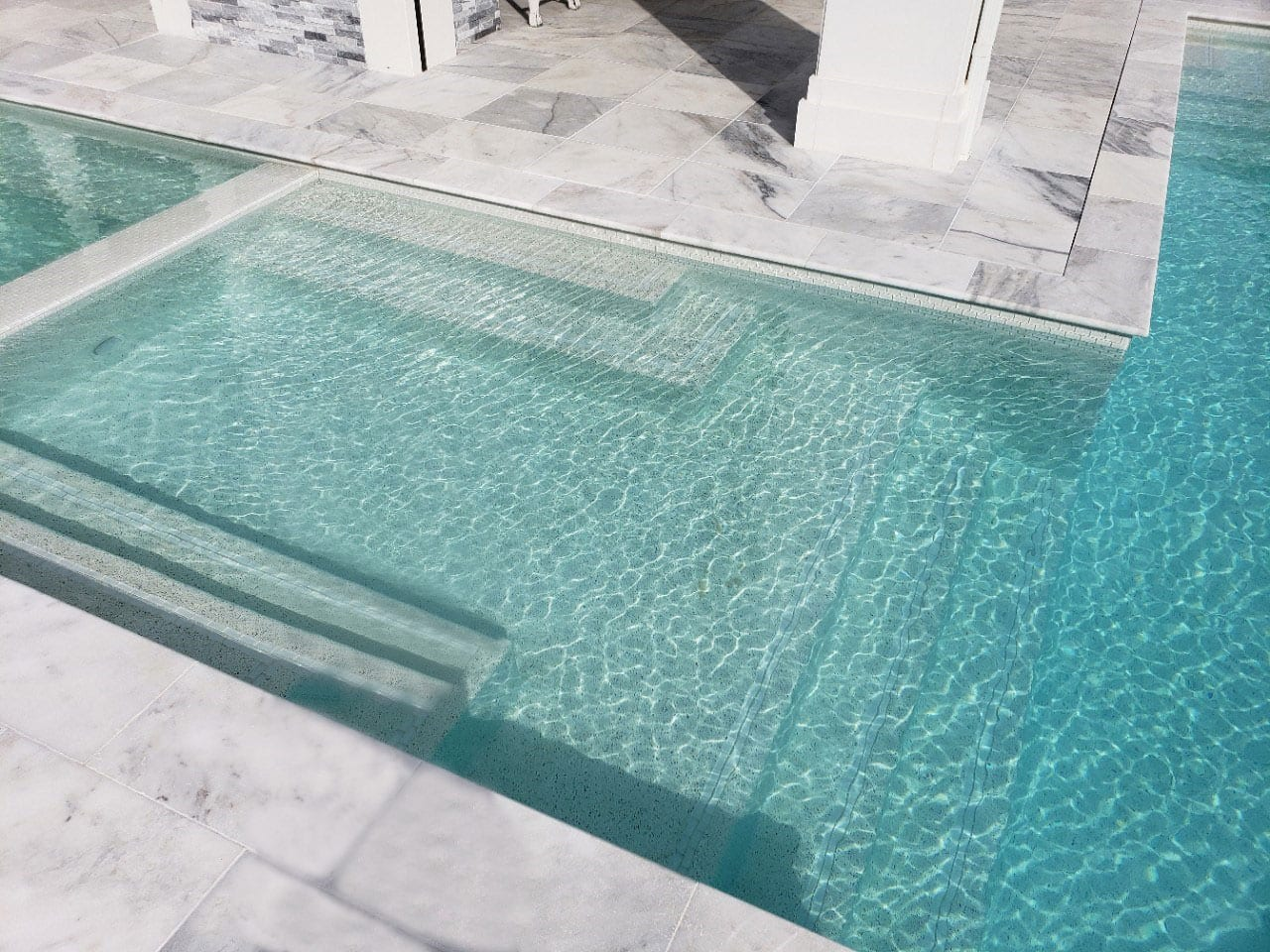 Stoneline-Group-Ice-White-Marble-Collection-Marble-Tumbled-Coping-Pool-deck-backyards-Outdoor-Pictures
