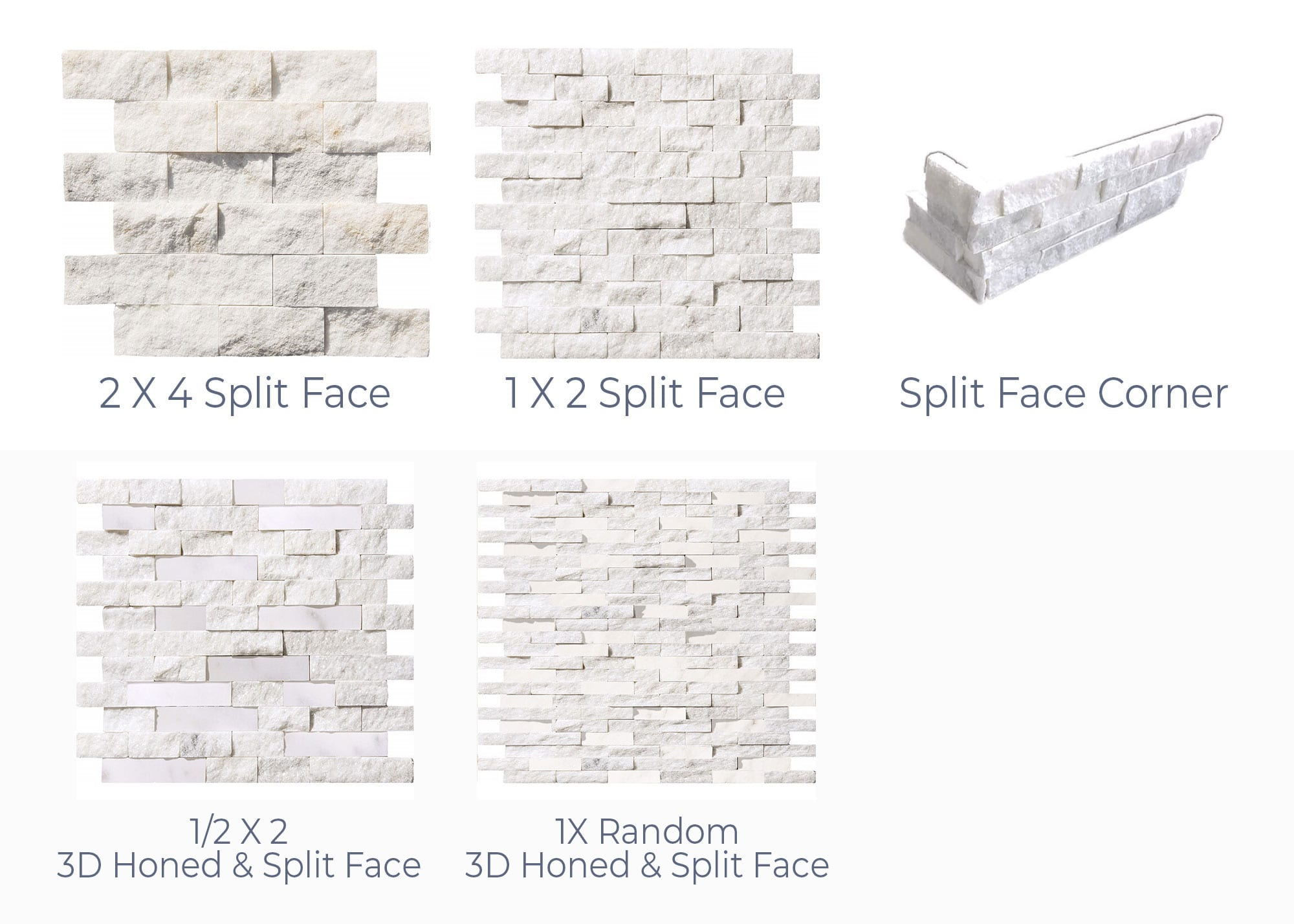 Stoneline-Group-Ice-White-Marble-Collection-Marble-Veneer-3D-Honed-Split-Face-Corner-Pictures
