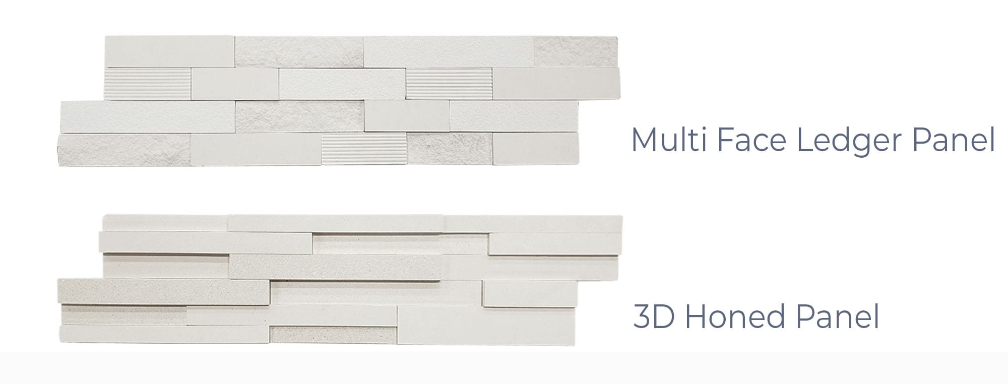 Stoneline-Group-Limra-Marble-Collection-Marble-Veneer-Multi-Face-3D-Honed-Ledger-Panel-Pictures