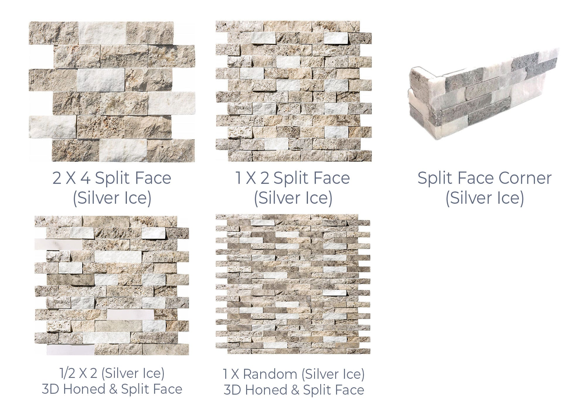 Stoneline-Group-Silver-Ice-Travertine-Marble-Collection-Marble-Veneer-3D-Honed-Split-Face-Random-Pictures