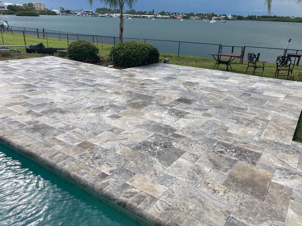 Stoneline-Group-Silver-Travertine-Marble-Collection-Marble-Paver-floor-walkway-marble-design-Pictures