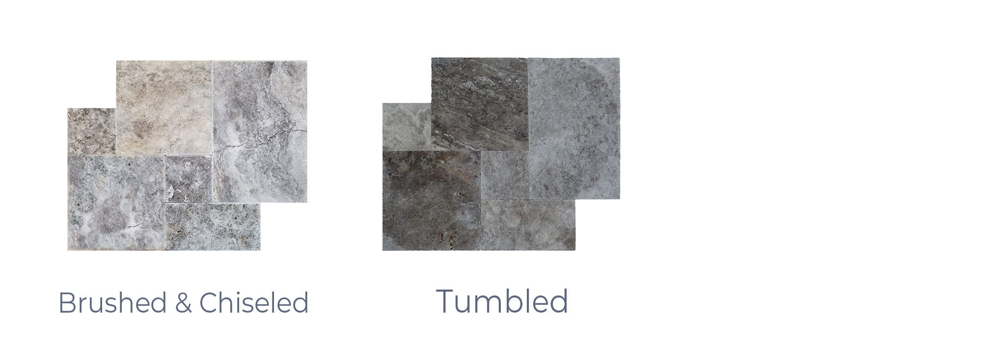 Stoneline-Group-Silver-Travertine-Marble-Collection-Marble-Tile-Brushed-chiseled-tumbled-Pictures