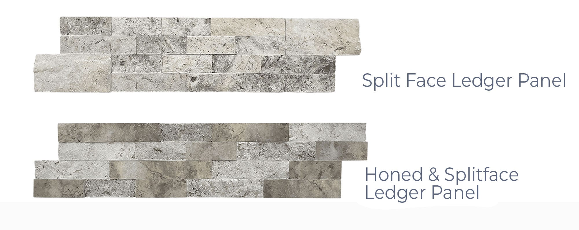 Stoneline-Group-Silver-Travertine-Marble-Collection-Marble-Veneer-3D-Honed-Split-Face-Panels-Pictures-variation