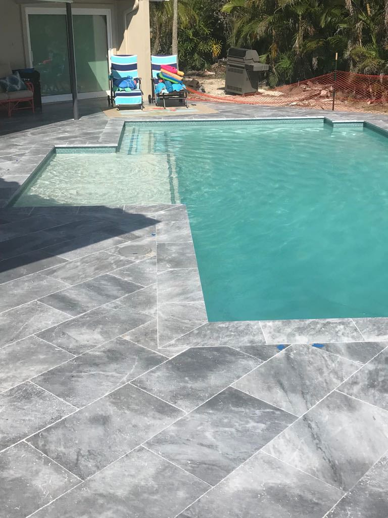 Stoneline-Group-Tahoe-Travertine-Marble-Collection-Marble-Leathered-Coping-Pool-deck-Pictures-2