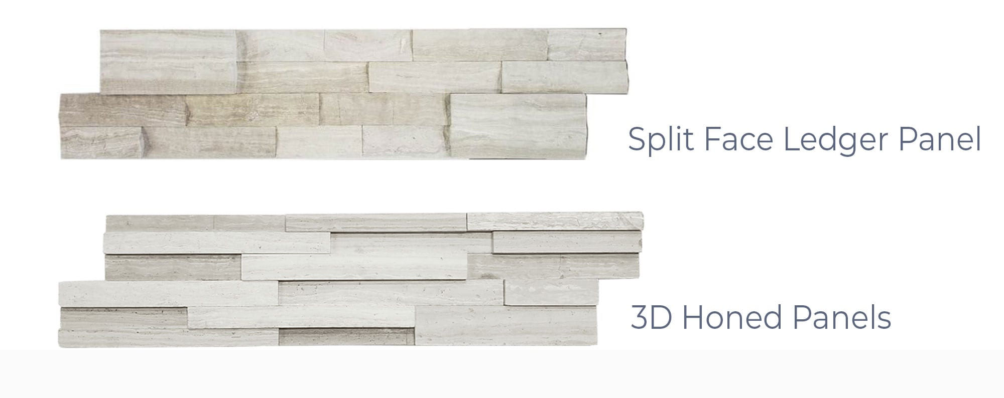 Stoneline-Group-White-Wood-Travertine-Marble-Collection-Marble-Veneer-3D-Honed-Split-Face-Panels-Pictures